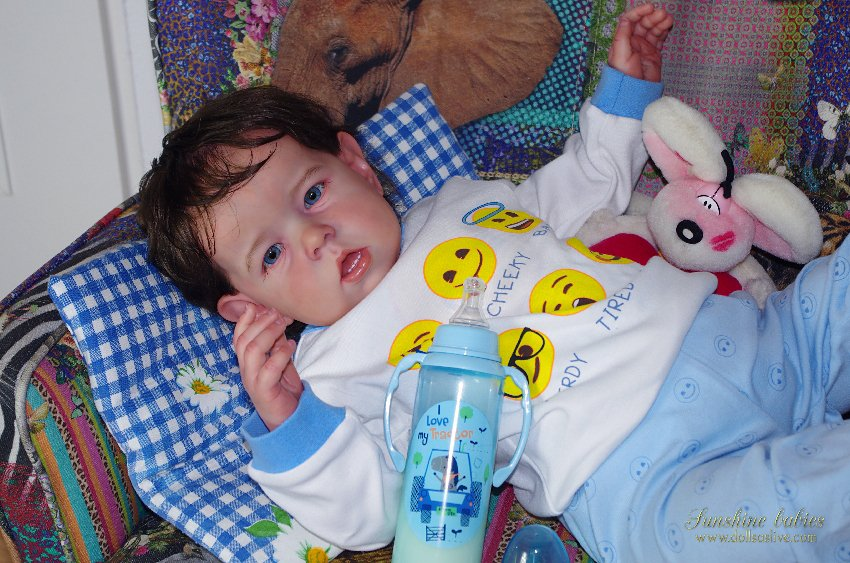THOMAS: Liam - Bonnie Brown LE: Dolls as Live Made with Love SUNSHINE BABIES Reborn Dolls