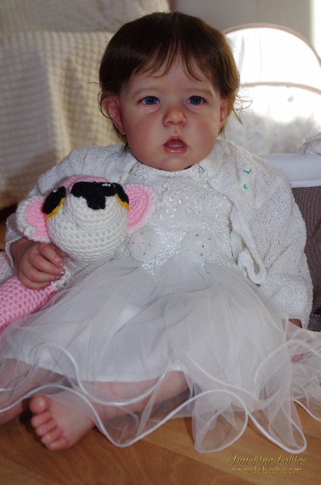 JEAN: Liam - Bonnie Brown: Dolls as Live Made with Love SUNSHINE BABIES Reborn Dolls